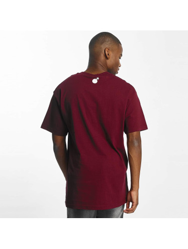 The Hundreds Herren T-Shirt Forever Bar Logo in rot
