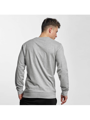 Thug Life Basic Herren Pullover Old Engish in grau