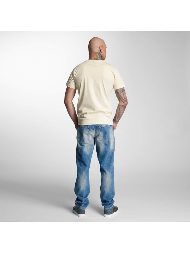 Thug Life Hombres Camiseta Skallen I Beis billig salg bla billig nye ankomst MYuFkwddWN