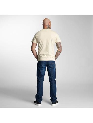 salg sneakernews billig salg Billigste Thug Life Hombres Camiseta Ingen Grunn I Beis Z5VXq2RP