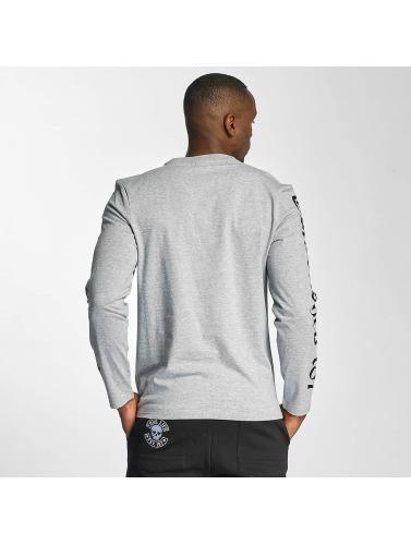 Thug Life Hombres Camiseta de manga larga Carlos in gris