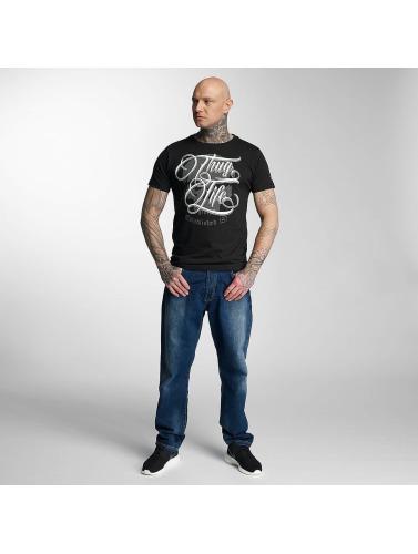 Thug Life Hombres Camiseta 187 I Neger begrenset opplag QZOii5q