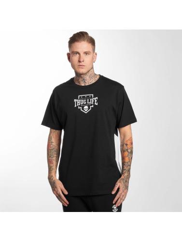 Thug Life Hombres Camiseta Life in negro