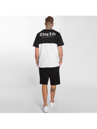 Thug Life Hombres Camiseta Koyote in negro