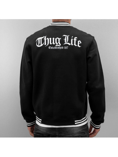 Thug Life Herren College Jacke Zoro in schwarz