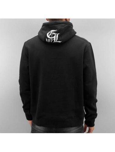 Thug Life Herren Hoody Deadflower in schwarz