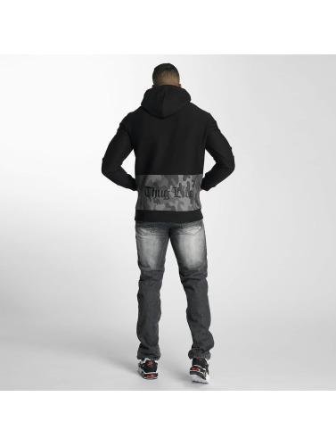 Thug Life Herren Hoody Burn in schwarz