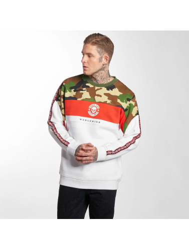 Thug Life Hombres Jersey Tiger in blanco