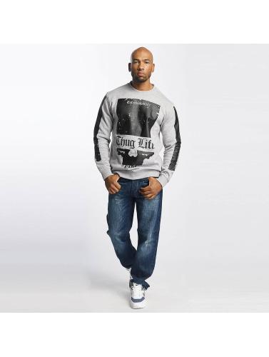 klaring offisielle nettstedet Thug Life Hombres Jersey Blind Gris rabatt billig pris kjøpe billig opprinnelige topp kvalitet xGSakbjcQD