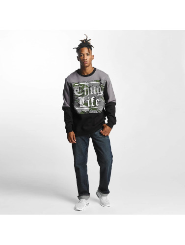 Thug Life Hombres Jersey New Life in negro