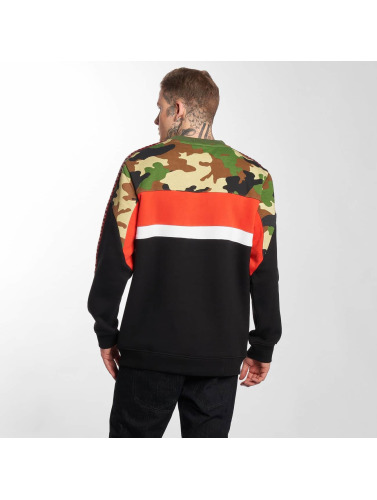 Thug Life Hombres Jersey Tiger in negro