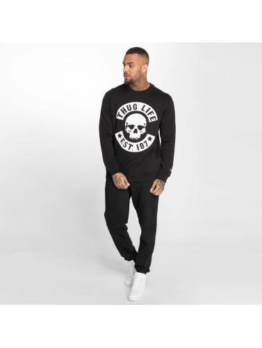 Thug Life Hombres Jersey B.Skull in negro