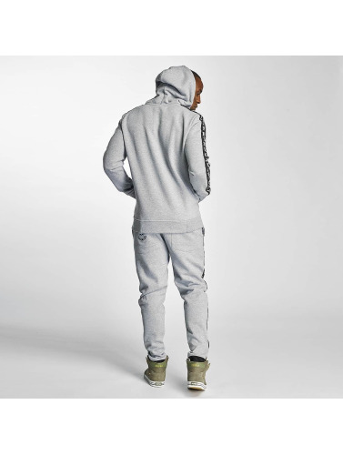 Thug Life Herren Jogginghose Wired in grau
