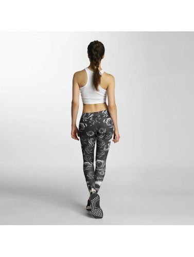 Thug Life Damen Legging Skullpattern in schwarz