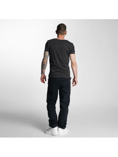Thug Life Herren Loose Fit Jeans Carrot in schwarz