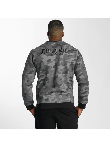 Thug Life Herren Pullover Attack in camouflage