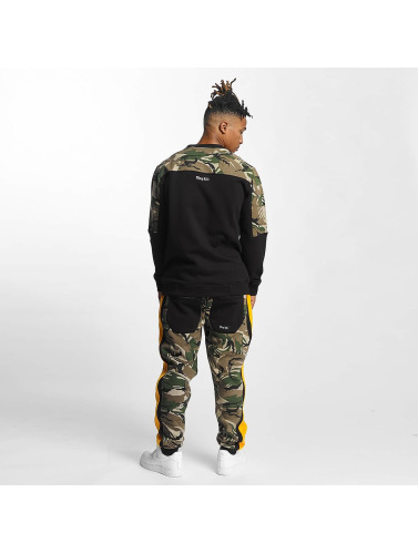 Thug Life Herren Pullover New Life in camouflage