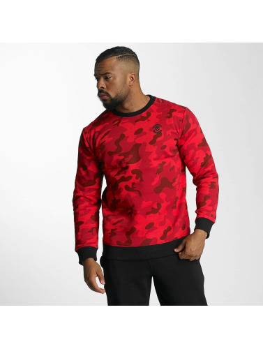 Thug Life Herren Pullover Attack in rot