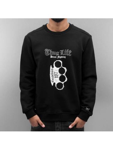 Thug Life Herren Pullover Streetlife in schwarz