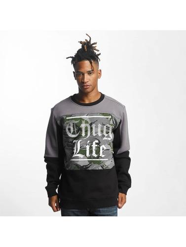Thug Life Herren Pullover New Life in schwarz
