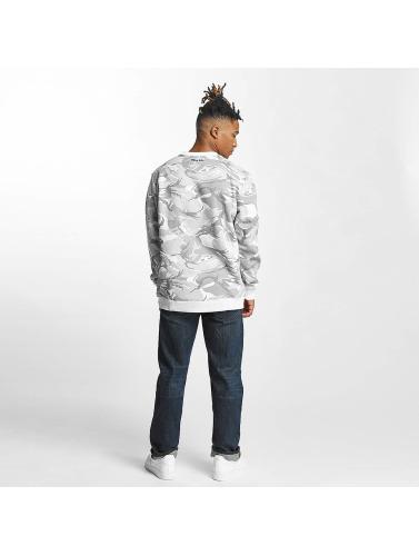 Thug Life Herren Pullover Hidden in weiß