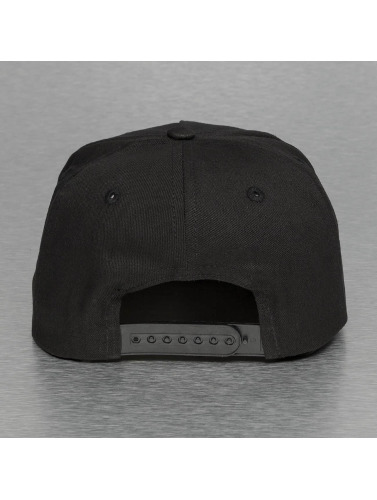 Thug Life Snapback Cap Bompton in schwarz