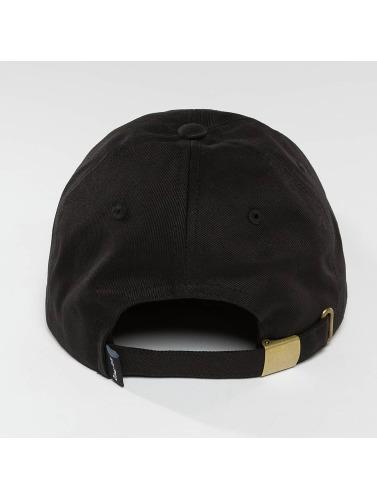Thug Life Herren Snapback Cap Curved in schwarz