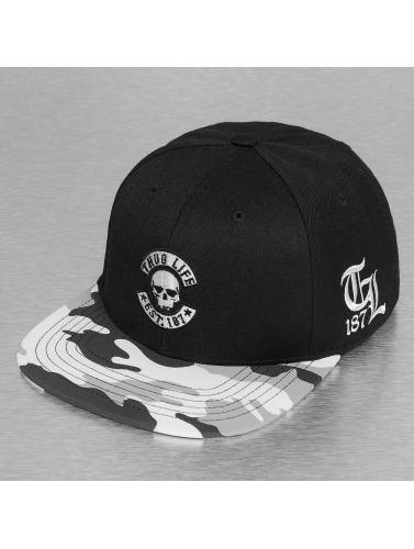 Thug Life Snapback Cap Ragthug in schwarz