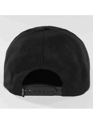 Thug Life Snapback Cap Worldwide in schwarz