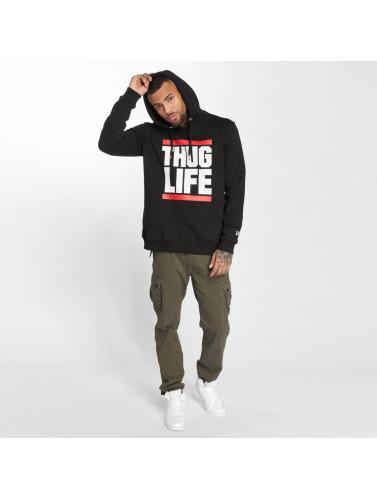 Thug Life Hombres Sudadera B.Fight in negro