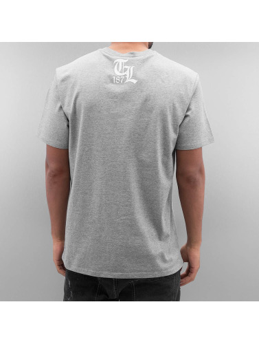 Thug Life Herren T-Shirt Deadking in grau