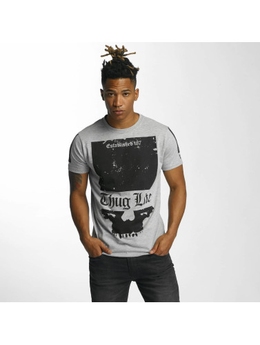 Thug Life Herren T-Shirt Blind in grau