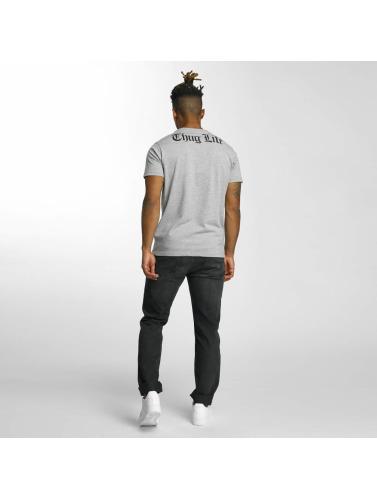 Thug Life Herren T-Shirt Barley in grau
