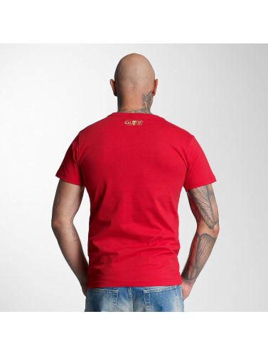 Thug Life Herren T-Shirt Celebrate in rot