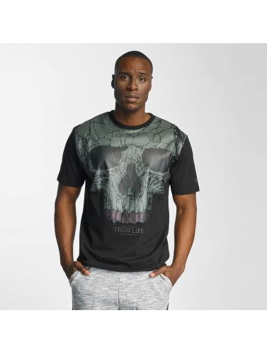 Thug Life Herren T-Shirt Goldteath in schwarz