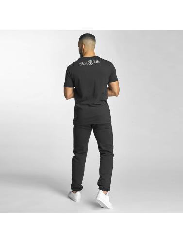 Thug Life Herren T-Shirt Established 187 in schwarz