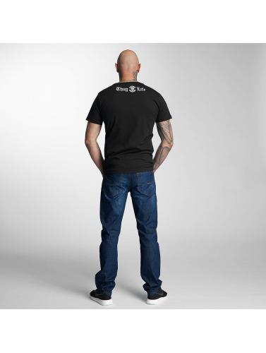 Vie De Voyou T-shirt Des Hommes 187 En Noir
