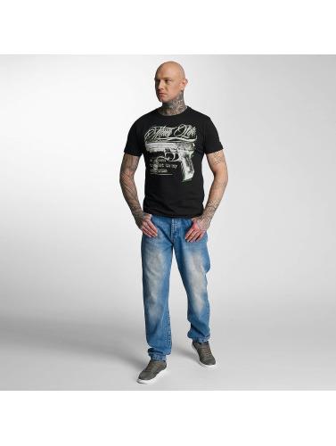 Thug Life Herren T-Shirt no reason in schwarz
