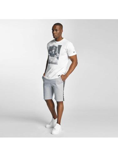 Thug Life Herren T-Shirt Scar in weiß