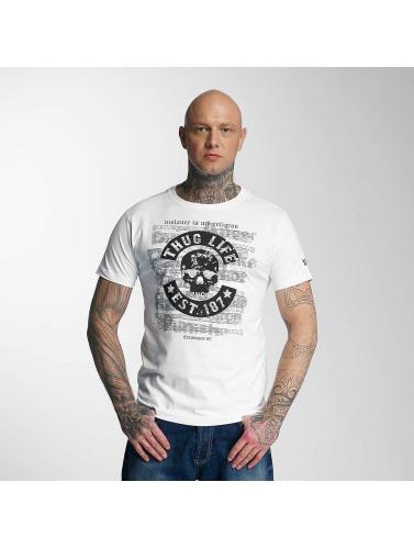 Thug Life Herren T-Shirt 187 in weiß Größte Anbieter Online Billig Verkauf Wahl Günstig Kaufen Preise CIKmK