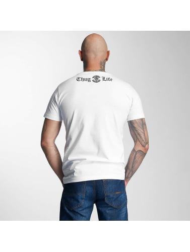 Thug Life Herren T-Shirt 187 in weiß