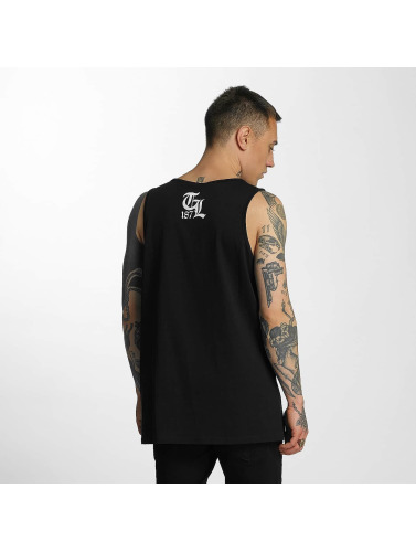 Thug Life Herren Tank Tops Ghetto Boys in schwarz