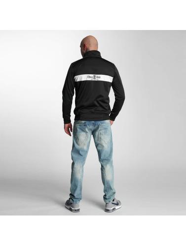 Thug Life Herren Übergangsjacke Force in schwarz