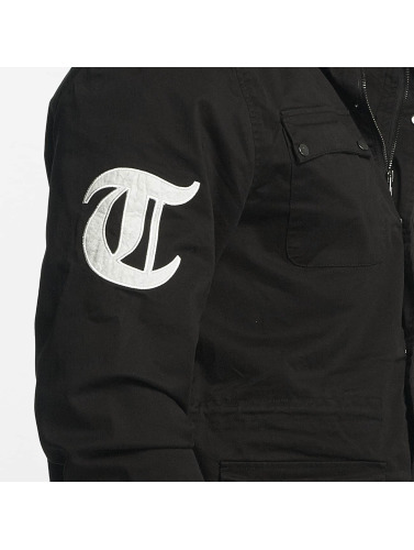 Thug Life Herren Übergangsjacke 187 in schwarz