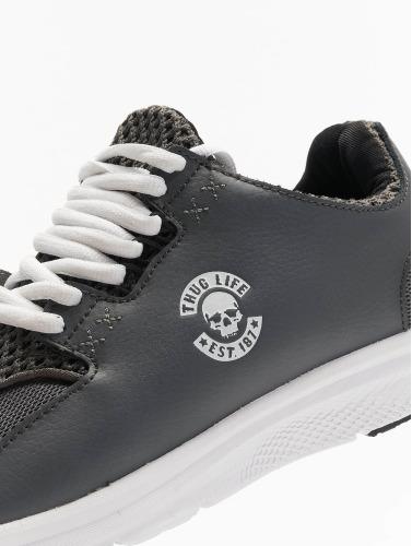 Thug Life Hombres Zapatillas de deporte Nosmis in gris