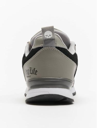 Thug Life Hombres Zapatillas de deporte Strong in negro