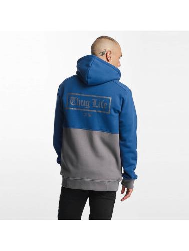 Thug Life Herren Zip Hoodie THGLFE in blau