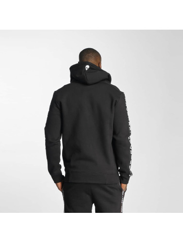 Thug Life Herren Zip Hoodie Wired in schwarz