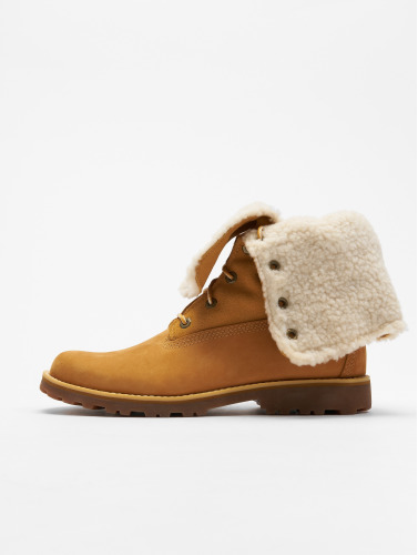 Timberland Damen Boots 6 Inch Waterproof Shearling in beige