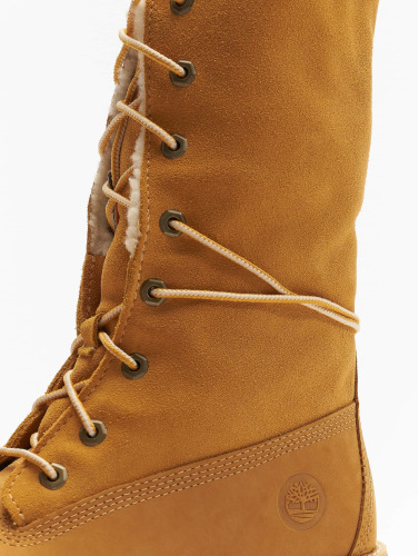 Timberland Damen Boots 6 Inch Waterproof Shearling in beige